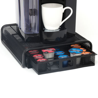 Rolling Single Serve Coffee Pod Drawer