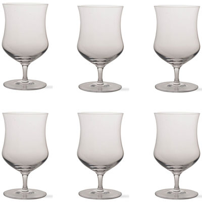 Tag Craft Beer Set of 6 Grand Tulip Glasses