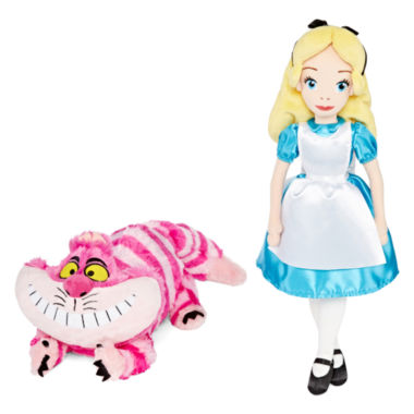 jcpenney.com | Disney Collection Cheshire Cat Medium Plush or Alice Soft Doll