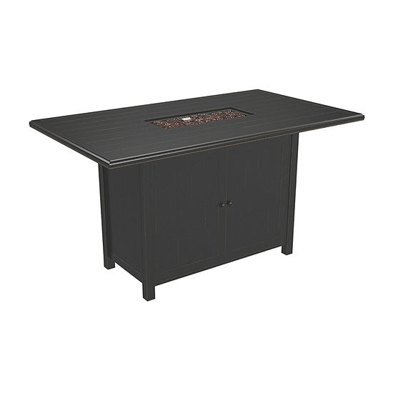 Outdoor by Ashley® Perrymount Rectangular Bar Height Patio Dining Table