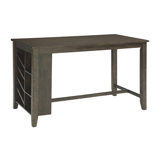 Signature Design by Ashley® Rokane Counter Height Dining Room Table