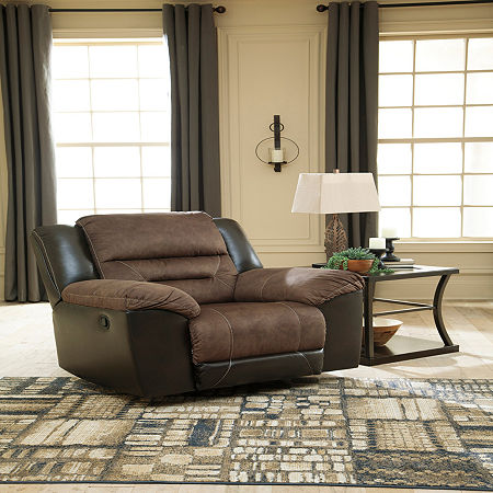 Signature Design by Ashley Earhart Recliner, One Size , Brown