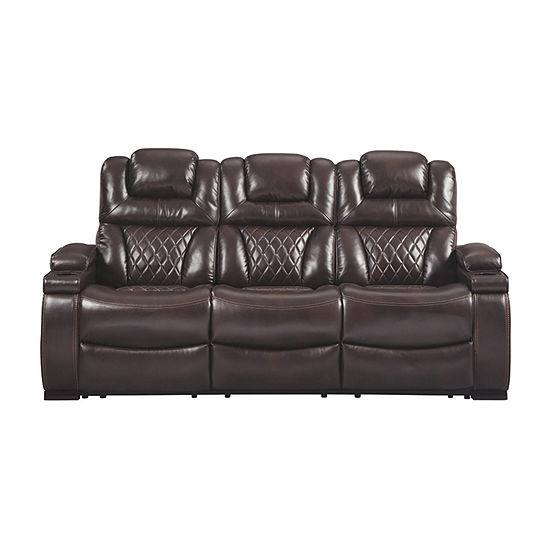 Signature Design By Ashley® Warnerton Power Reclining Sofa
