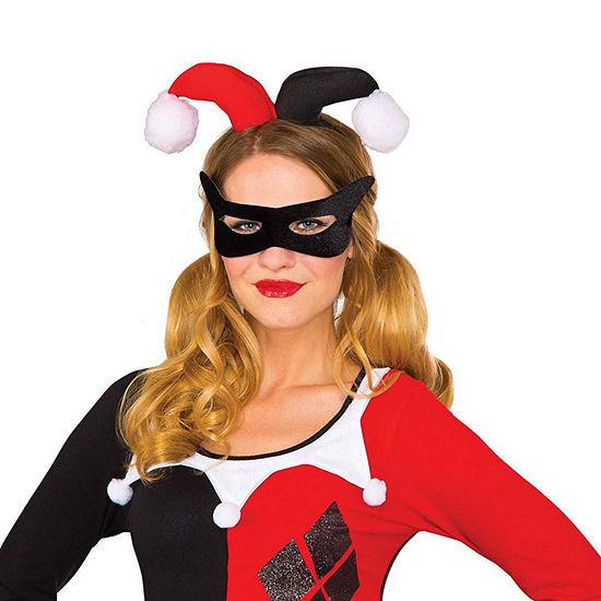 Womens Harley Quinn Headpiece Kit 2-pc. DC Comics Dress Up Costume