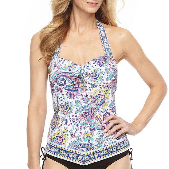 Liz Claiborne Tankini Swimsuit Top