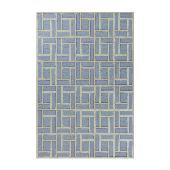 Kas Soho Brick By Libby Langdon Hand Tufted Rectangular Indoor Rugs