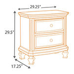 Signature Design by Ashley® Demarlos Two Drawer Nightstand