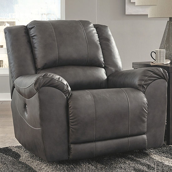 Signature Design By Ashley® Persiphone Leather Power Recliner