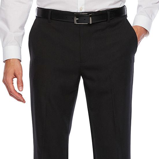 Van Heusen Traveler Slim Fit Mens Flat Front Pant