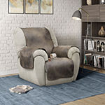 Serta No Slip Faux Leather With Neverwet Chair Protector