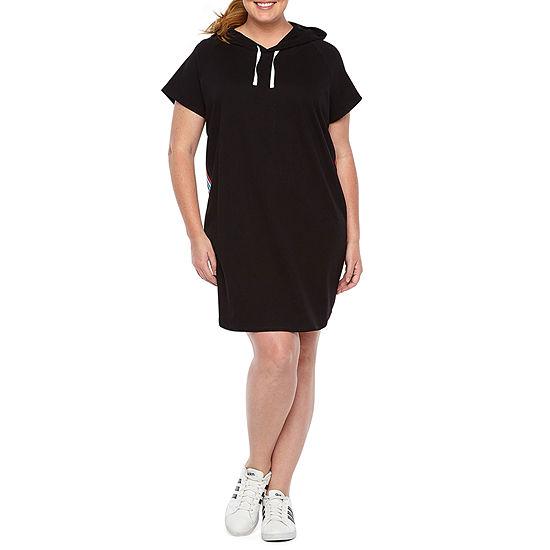 e72cfe5d6fad Xersion Short Sleeve T-Shirt Dresses - Plus - JCPenney