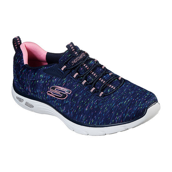 Skechers Empire Dlux Womens Slip-on Sneakers