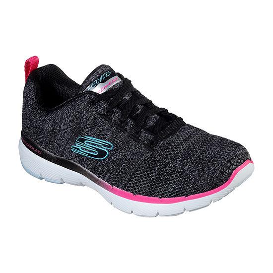 Skechers Flex Appeal 3 0 Womens Sneakers Lace Up