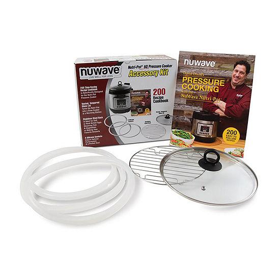 Nuwave 34125 6-Piece Accessory Kit for 6-Quart Nutri-Pot Pressure Cooker