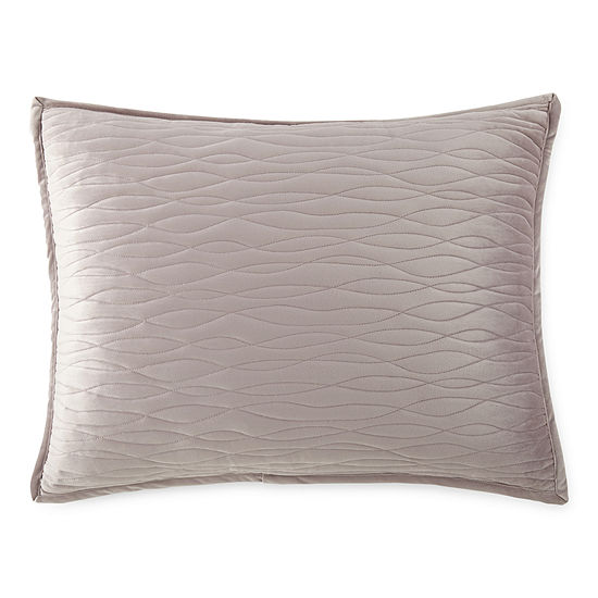 Velvet Wave Pillow Sham