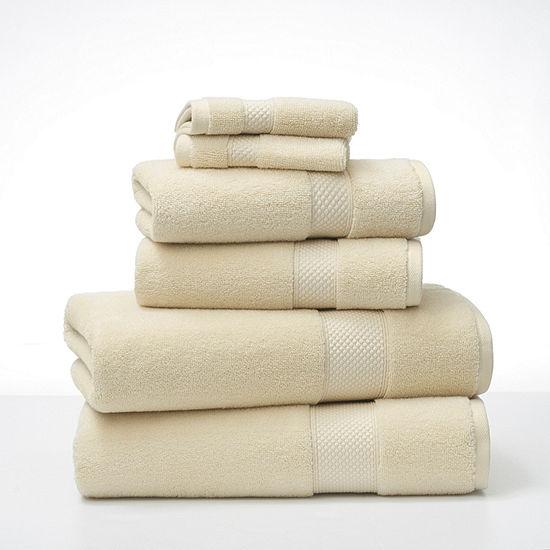 Fieldcrest Casual Solid 6pc Bath Towel Sets