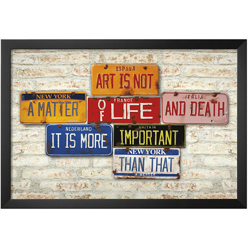 Art.com Life and Death Framed Print Wall Art