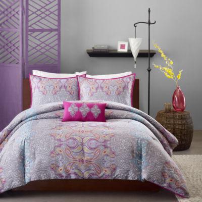 Mi Zone Torrance Paisley Comforter Set