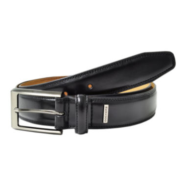 Dockers® Black Leather Belt–Big & Tall