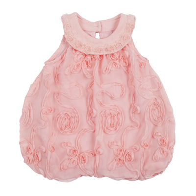 Youngland® Bubble Romper - Baby Girls 3m-9m