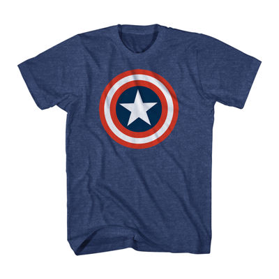 Marvel Captain America Shield Graphic Tee