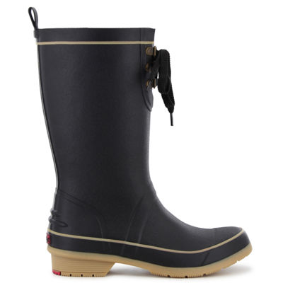 Chooka Fashion Womens Whidby Rain Boots Waterproof Pull-on