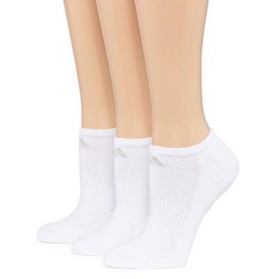 adidas 3 Pair No Show Socks - Womens