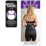 Naomi And Nicole Luxe Shaping Back Magic® Wonderful Edge® Firm Control Thigh Slimmers - 7089