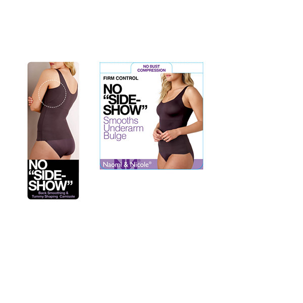 Naomi And Nicole Tummy-Shaping No Side-Show™ Wonderful Edge® Firm Control Shapewear Camisole-7504