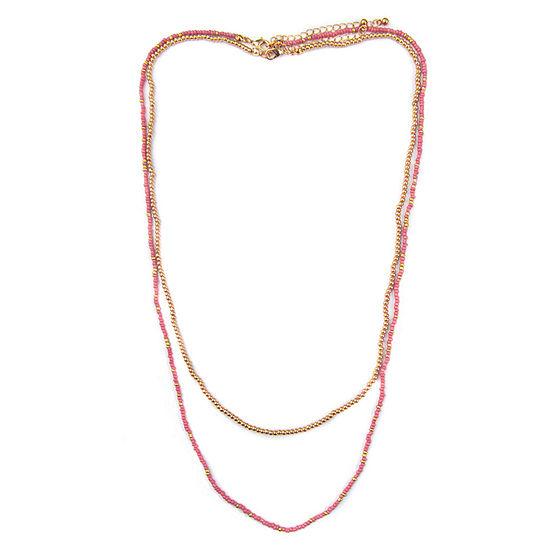 Arizona 2-pc. 30 Inch Bead Necklace Set