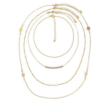 Arizona Womens 4-pc. Necklace Set