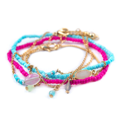 Arizona Womens 5-pc. Bracelet Set