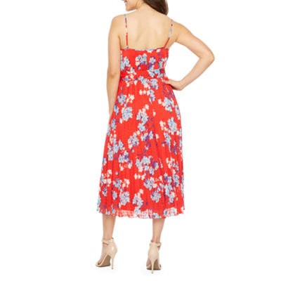 Premier Amour Sleeveless Pattern Shift Dress