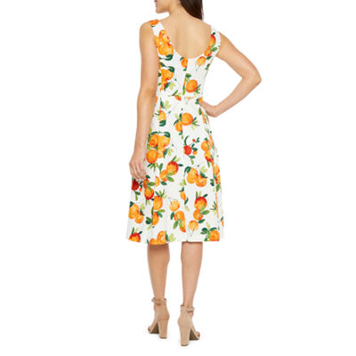 Be by CHETTA B Sleeveless Fit & Flare Dress