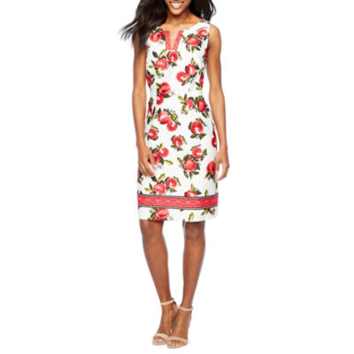 Be by CHETTA B Sleeveless Shift Dress