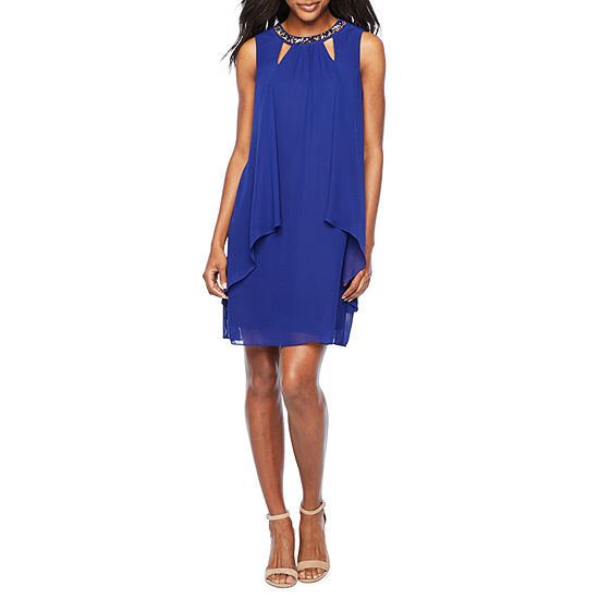Alex Evenings Sleeveless Shift Dress