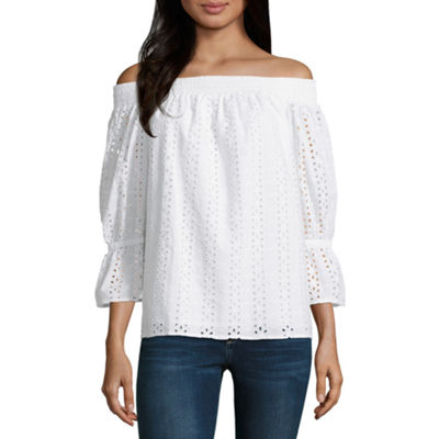 a.n.a Off the Shoulder Top - Tall