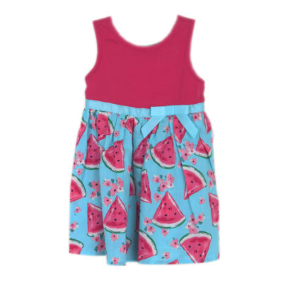 Lilt Sleeveless Pattern A-Line Dress - Baby Girls