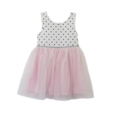Lilt Sleeveless Polka Dot A-Line Dress - Baby Girls