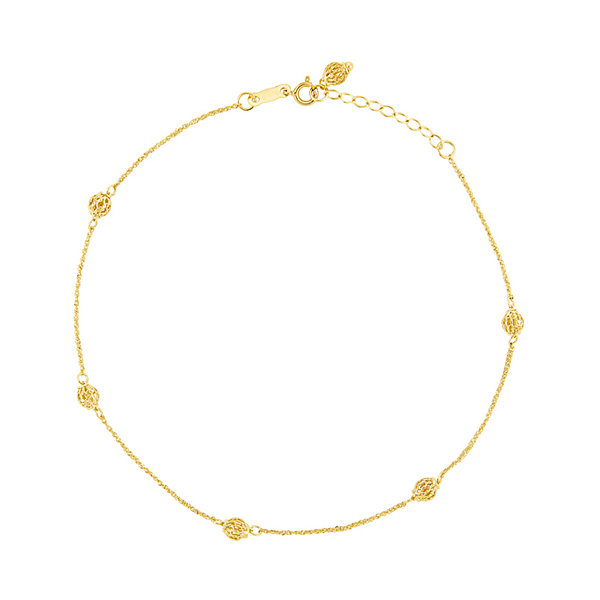 for gold wedding women rose filled simple anklet bracelets bracelet leg anklets jewelry styx ankle cheap
