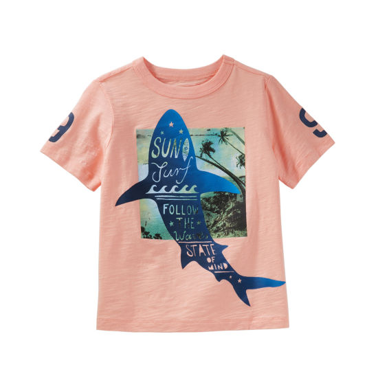 Oshkosh Short Sleeve T-Shirt-Preschool Boys