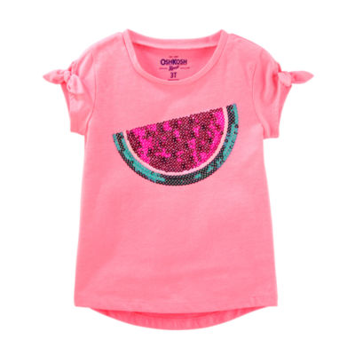 Oshkosh Short Sleeve T-Shirt-Preschool Girls