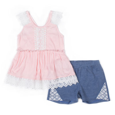 Okie Dokie 2-pack Short Set Toddler Girls