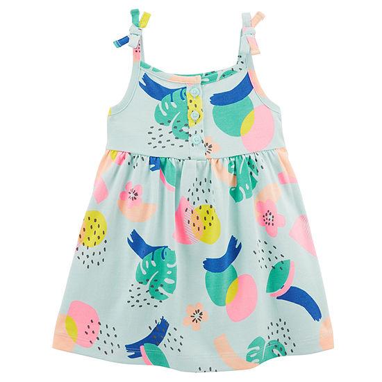 Carter's 2-pc. Girls Sleeveless A-Line Dress - Baby