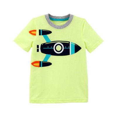 Carter's Short Sleeve 3D Graphic T-Shirt-Preschool Boys
