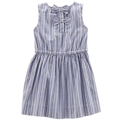 Carter's Sleeveless Stripe A-Line Dress - Preschool Girls