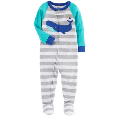Carter's Long Sleeve One Piece Pajama-Baby Boys