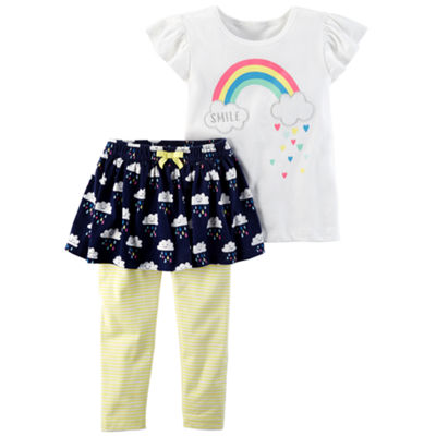 "Carter's Legging 2-pack Set-Toddler Girls"" 2T-5T"