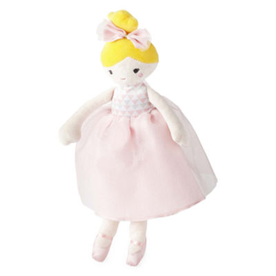 Okie Dokie Blonde Ballerina Plush Doll - Baby