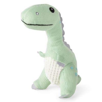 Okie Dokie Dinosaur Rattle Plush Doll - Baby